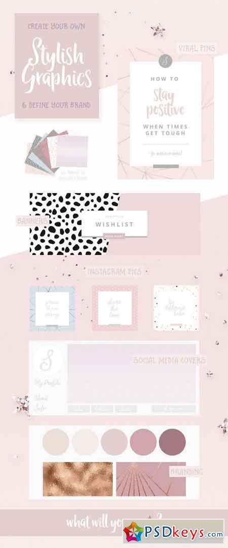 Whimsical Branding Patterns 1546298