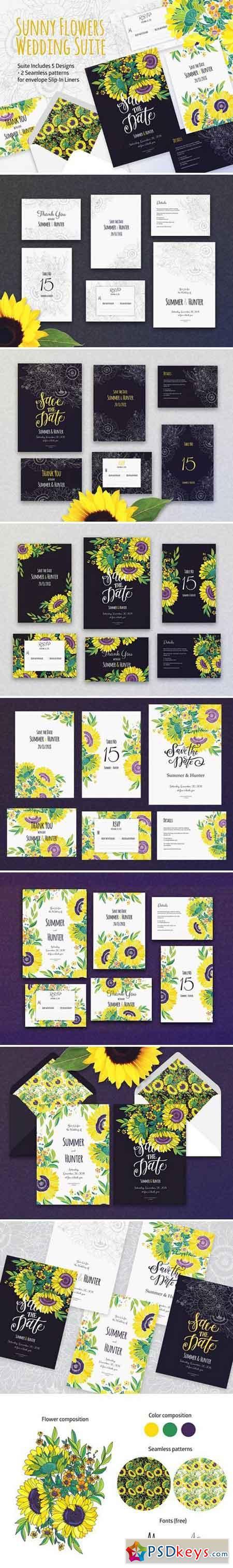 Sunny Flowers Wedding Suite 2355567