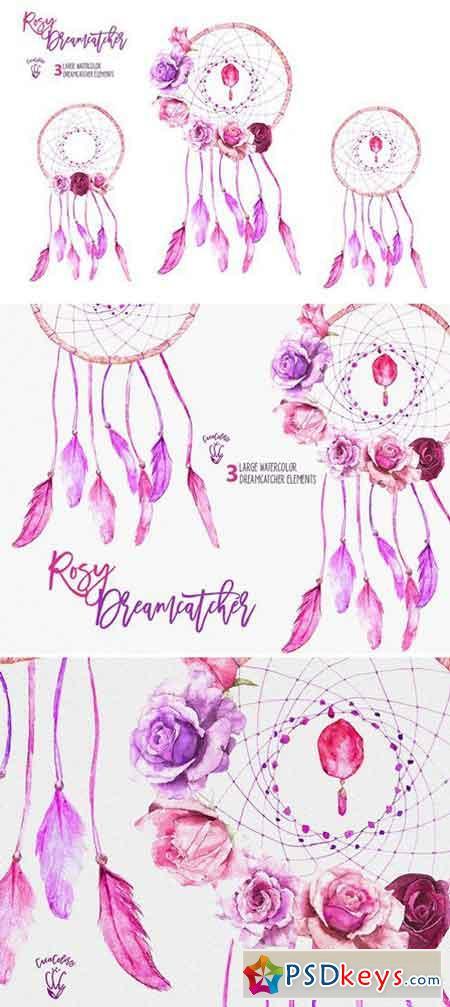 Rosy Dreamcatchers 1589040