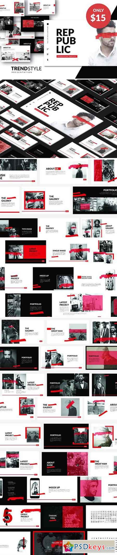 PUBLIC Creative Template Powerpoint 2356398