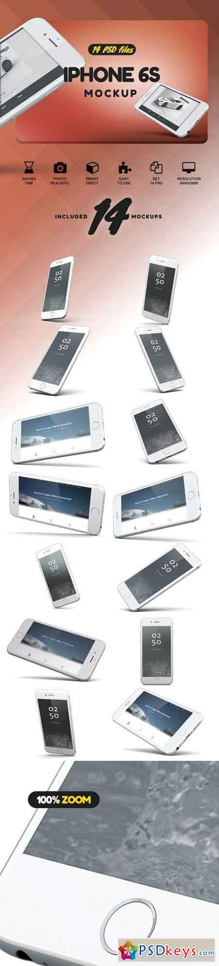 iPhone 6S Mockup 2019906