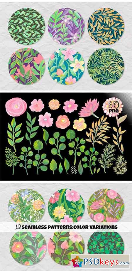 Floral Collage Creator 2332411