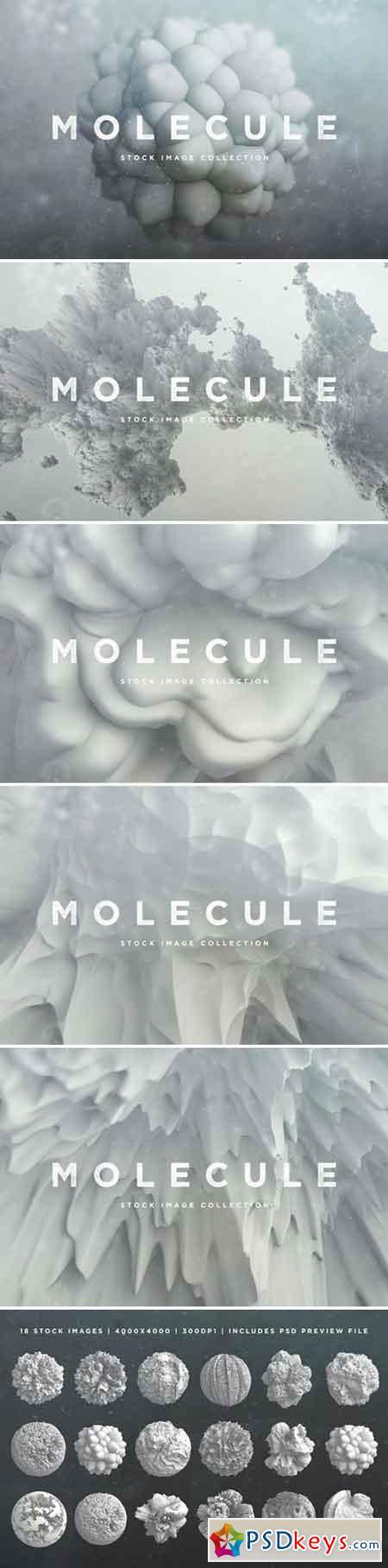 3D Molecule Objects 2347024