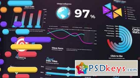 Infographics 21100402 - After Effects Projects » Free