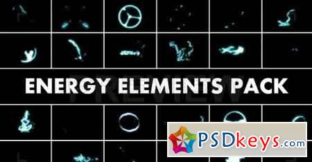 Energy Elements Pack 35951 Motion Graphics