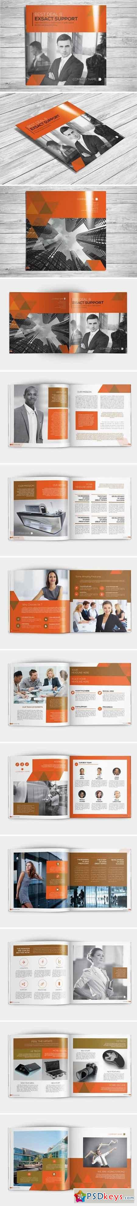 Multipurpose Square Brochure 2109137