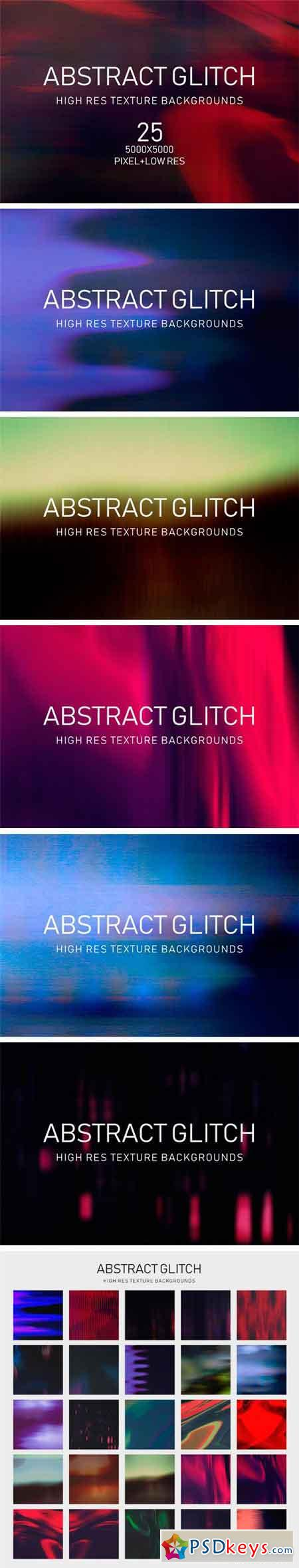 Abstract Glitch Texture Collection 2350354