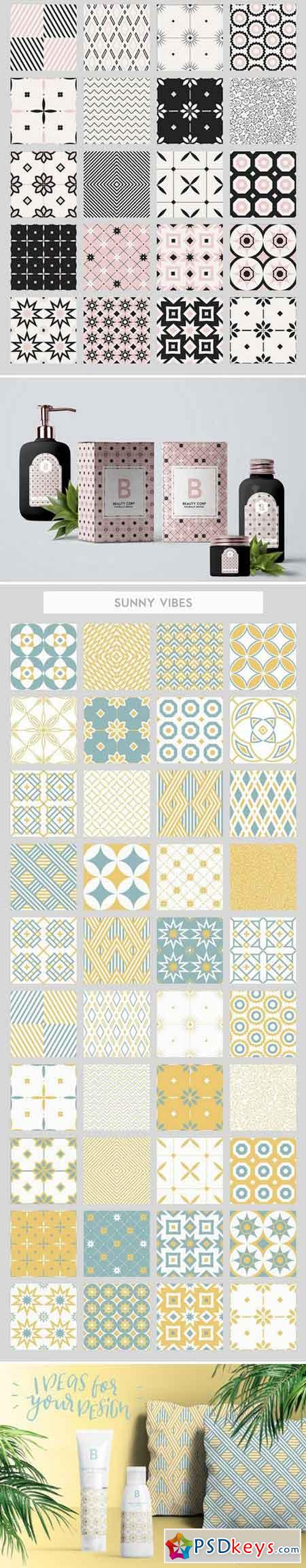 40 seamless patterns set 1582821