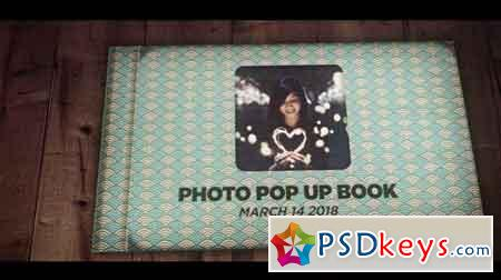 3D Pop Up Photo Book 65015 - After Effects Projects