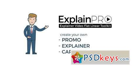 ExplainPRO Explainer Video Flat Linear Toolkit 21033097 - After Effects Projects