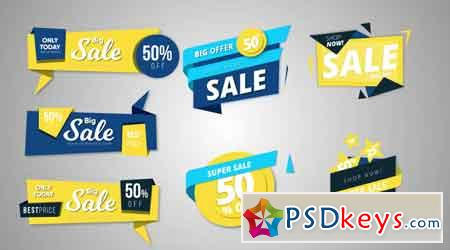 11 Sale Banners 65373 - After Effects Projects