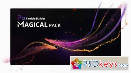 Particle Builder Magical Pack Magic Awards Abstract Particular Presets 20004075