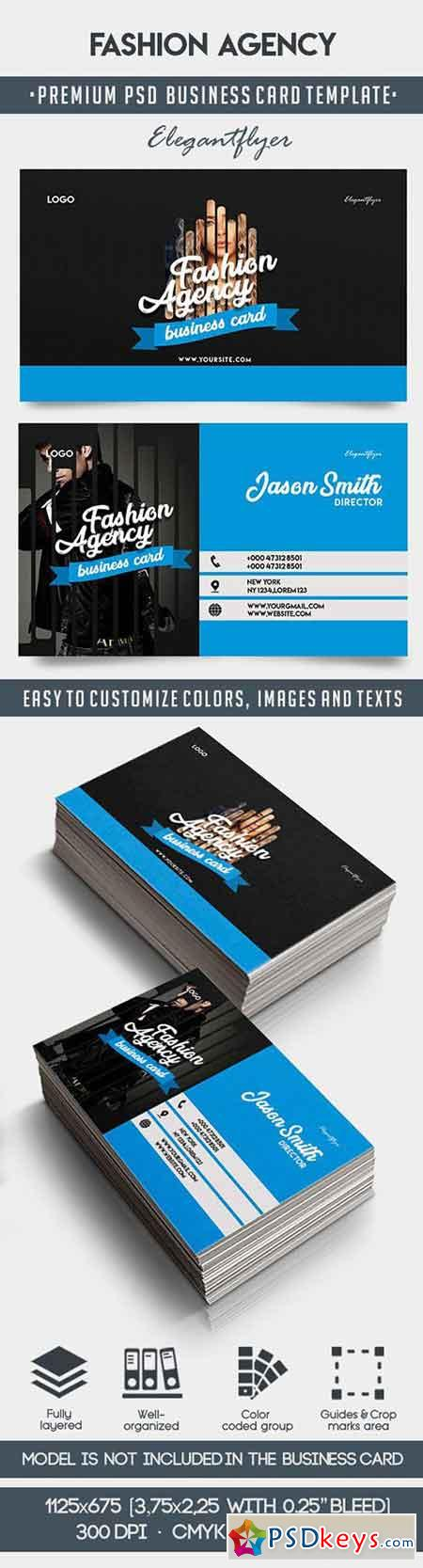 Fashion Agency – Premium Business Card Templates PSD