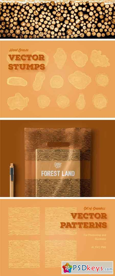 Forest Land Vector Kit 2350039