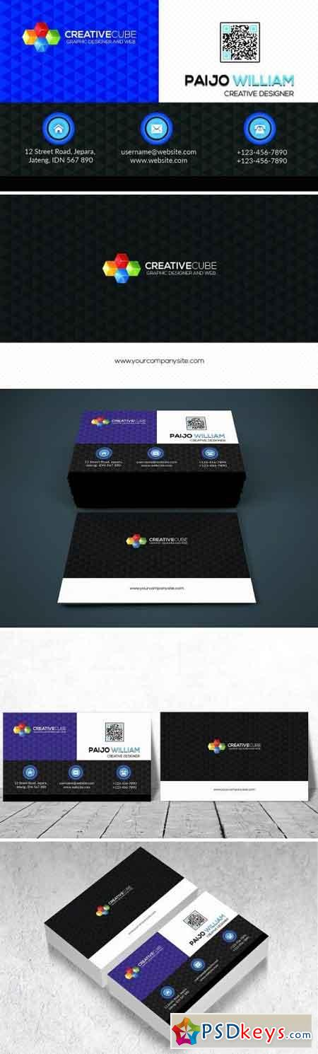 Modern Simple Business Card 1516179