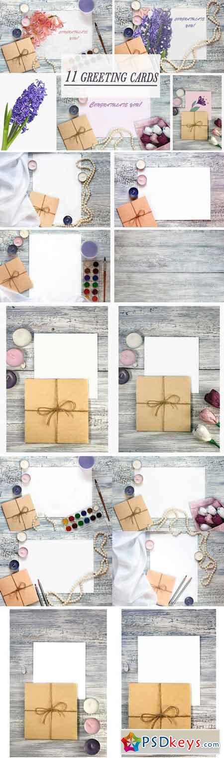 Greeting Card Mockups 2354928