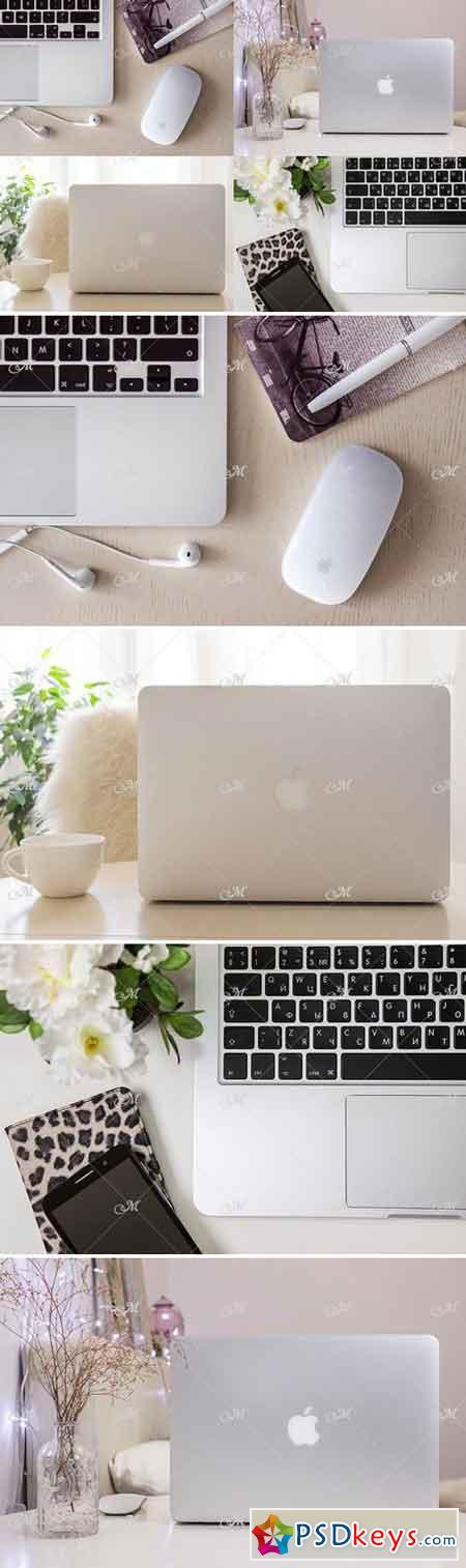 Macbook Mock-up Bundle Vol.1 JPEG 2349831