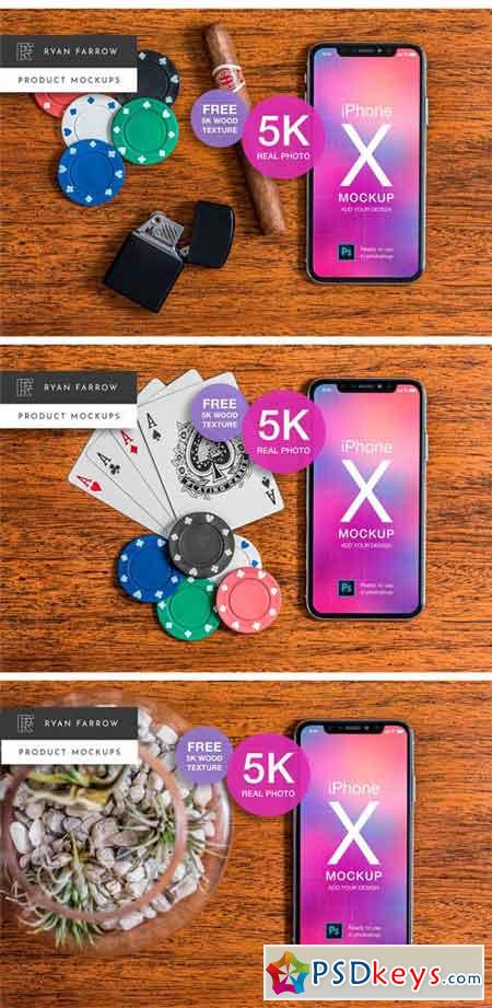 iPhone X Mockup MEGA BUNDLE 2371074