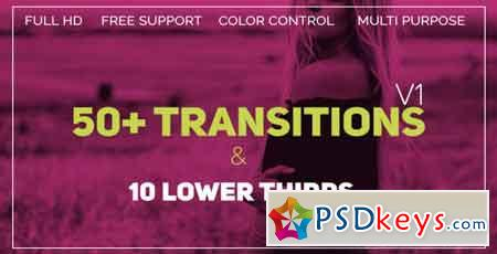 Transitions 21450502 - After Effects Projects