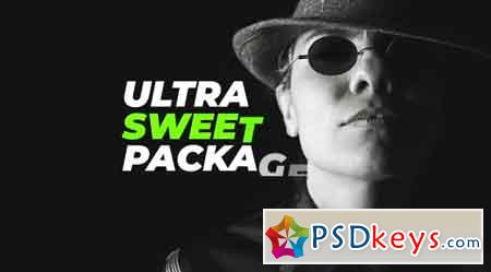 Ultra Sweet Type Pack - After Effects Projects
