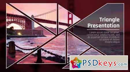 Triangle Presentation 56619 Premiere Pro Templates