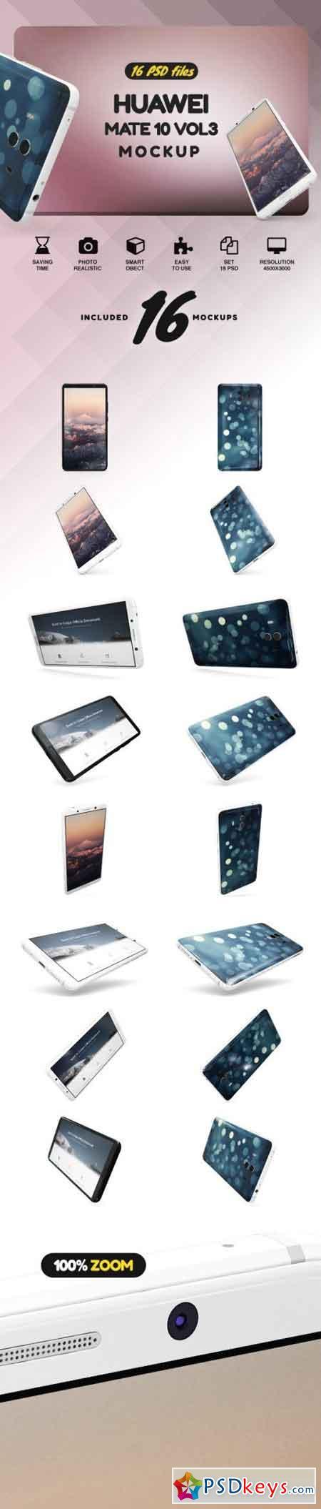 Huawei Mate 10 Vol.3 Mockup 2142297