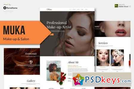 MUKA - Make-up & Salon Muse Theme 2377546