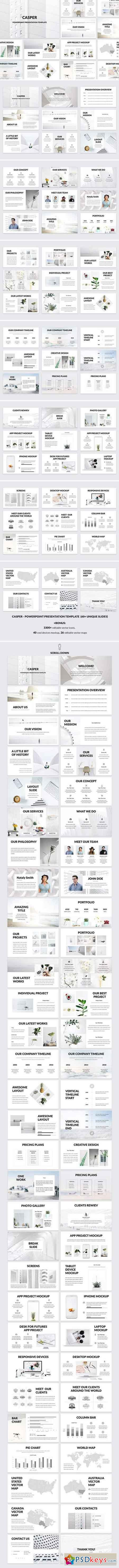 Casper - Powerpoint Template 2379262