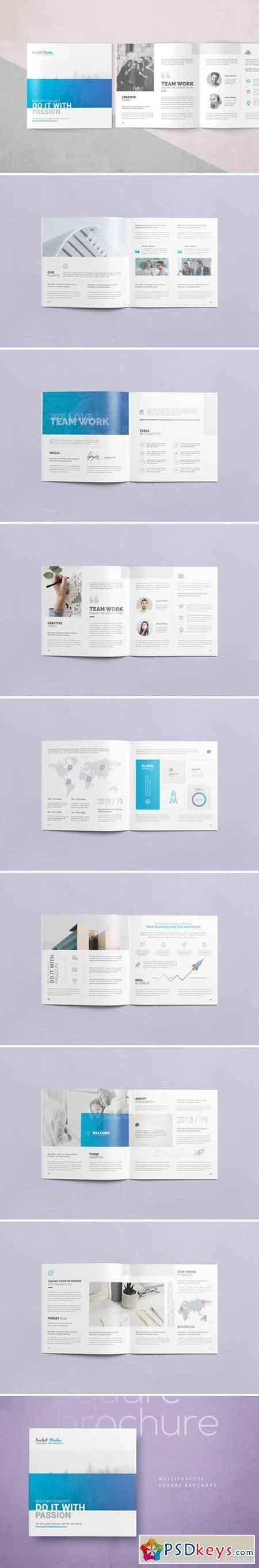 Multipurpose Square Brochure 2379768