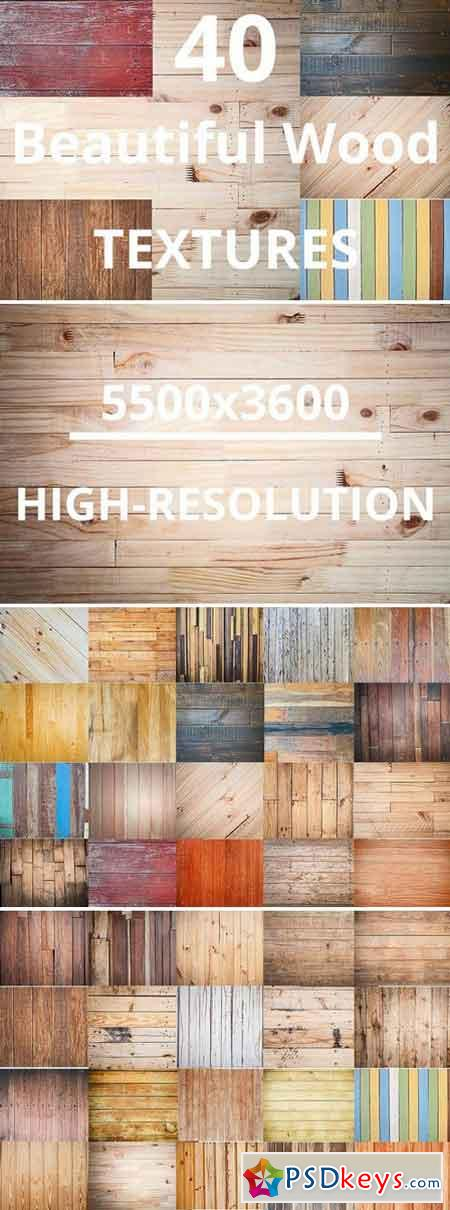40 Beautiful Wood Detail textures 1574608