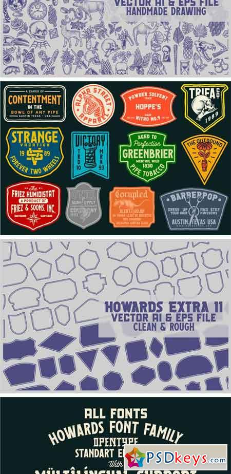 Howards Font Family 2349237
