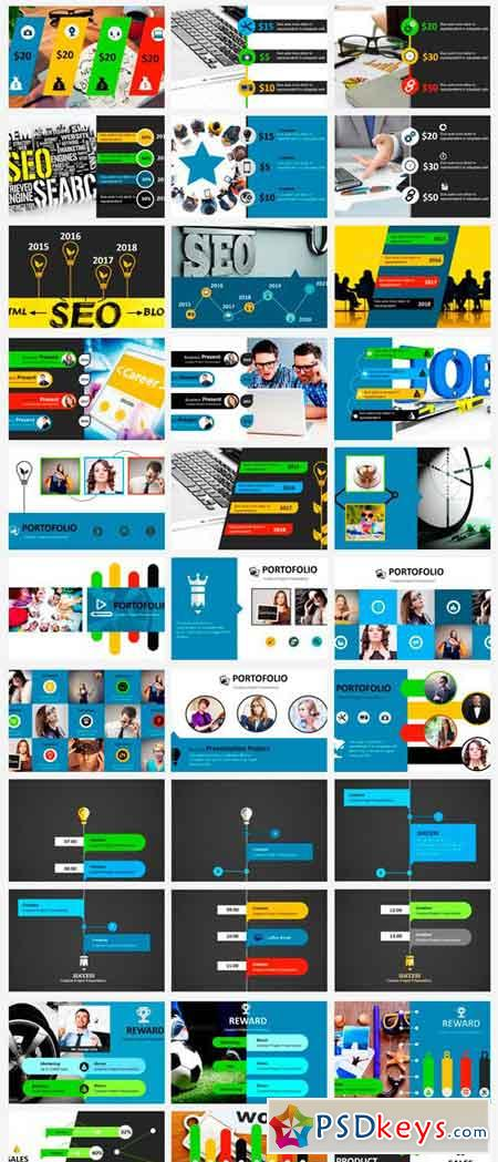 MOZA - Powerpoint Templates 2370989