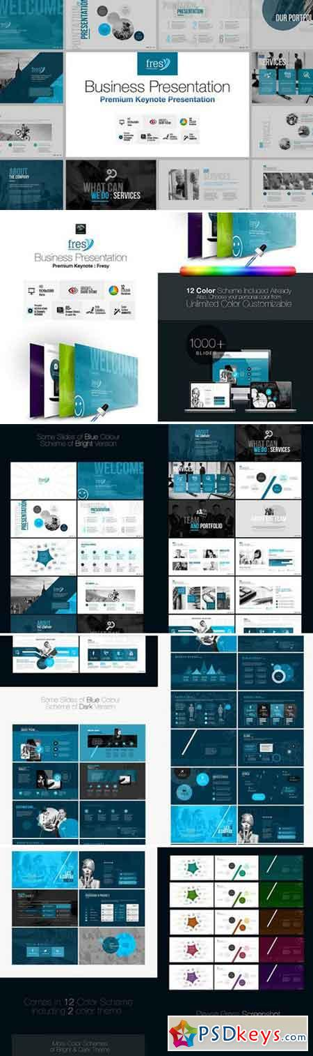 Fresy Business Keynote Template 2377857