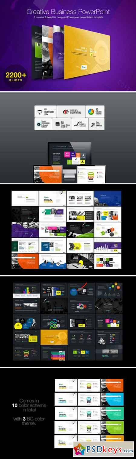 Creative Business PowerPoint 2378537