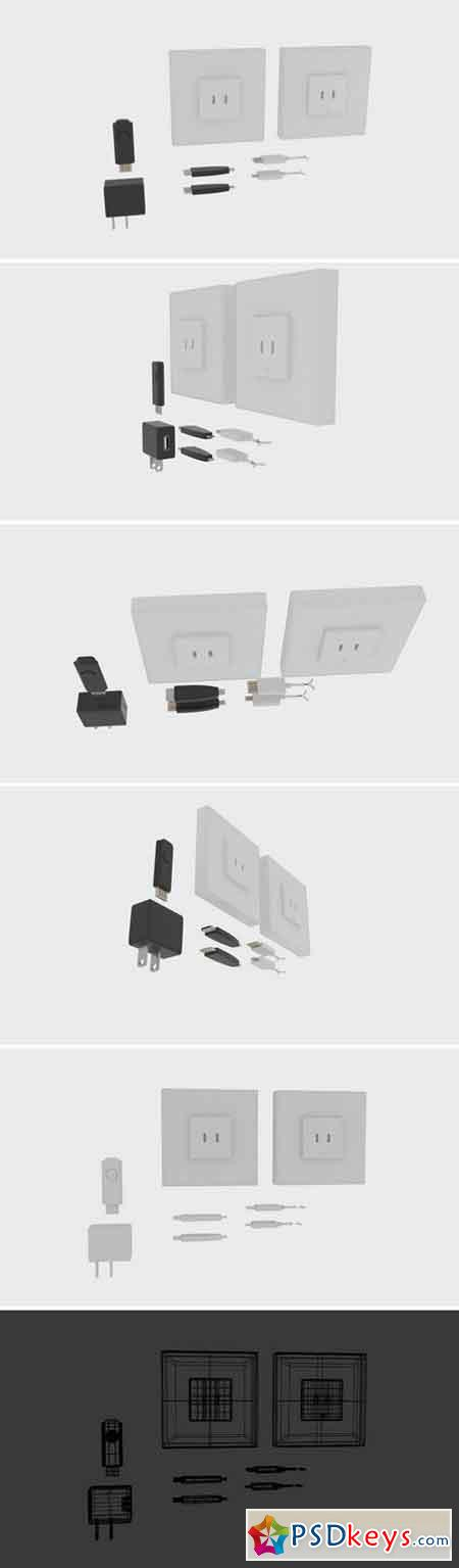 USB Charger Component 1580113