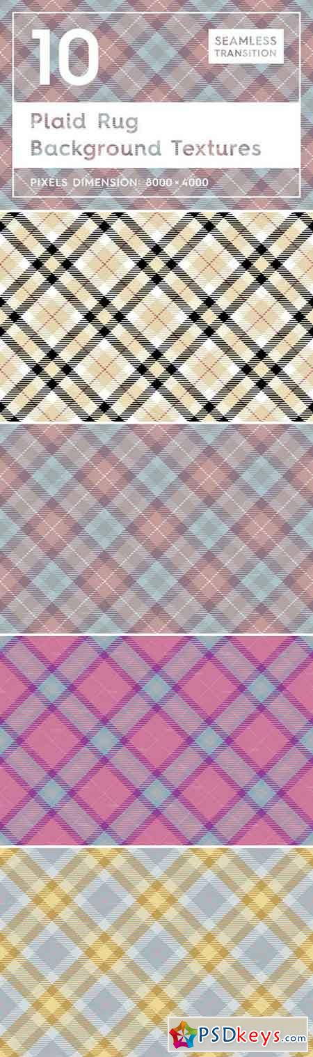 10 Plaid Rug Background Textures 2379392