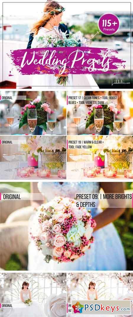 Wedding Presets for Lightroom & ACR 2394382 » Free Download