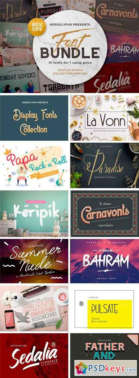 Display Font Collection 2348347