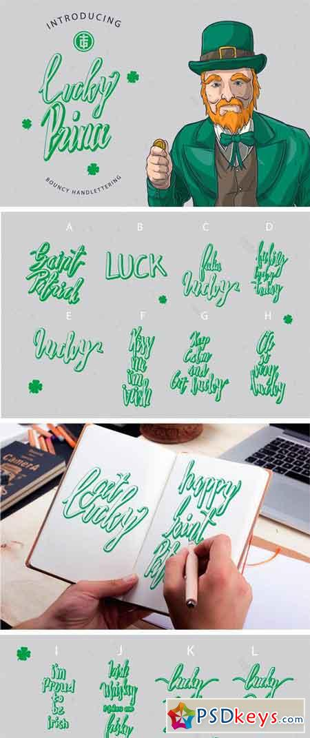 Lucky Prince Lettering Dingbats 2296002