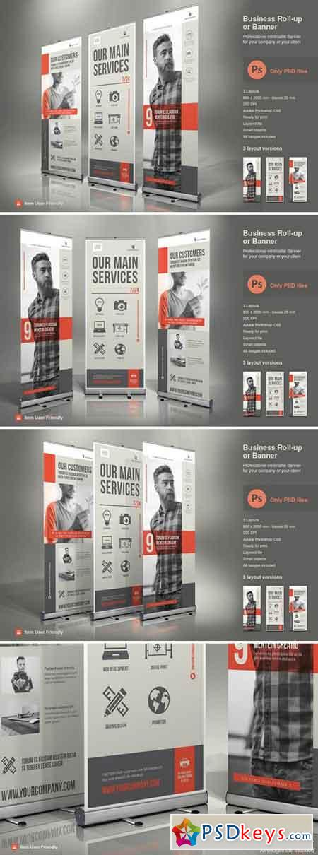 Business Roll-Up Vol. 5 PSD 2379185