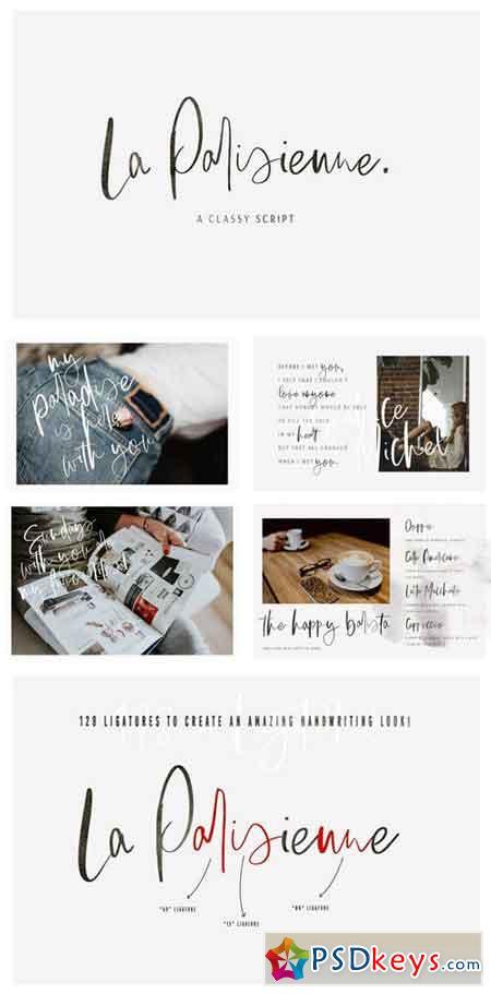La Parisienne A Classy Script 2354318