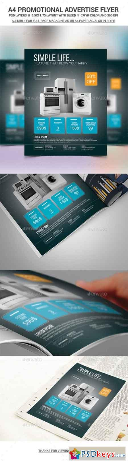 Product Promo Flyer Template 11562493