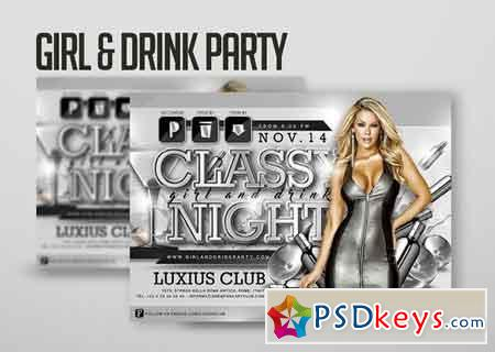 Girl And Drink Party 2403933