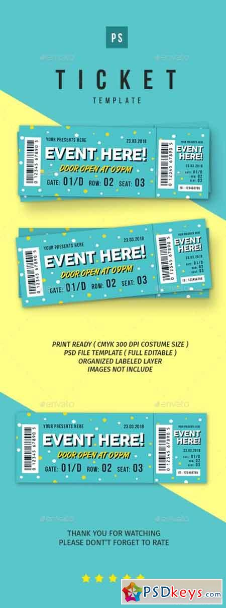 Event Ticket vol.5 21787295