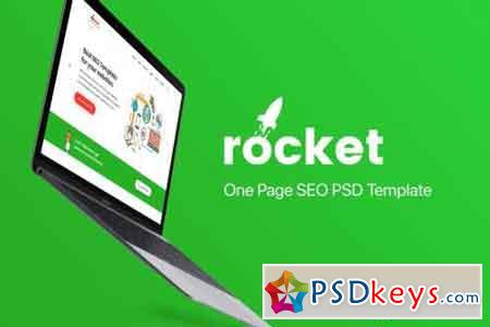 Rocket - One page SEO Template