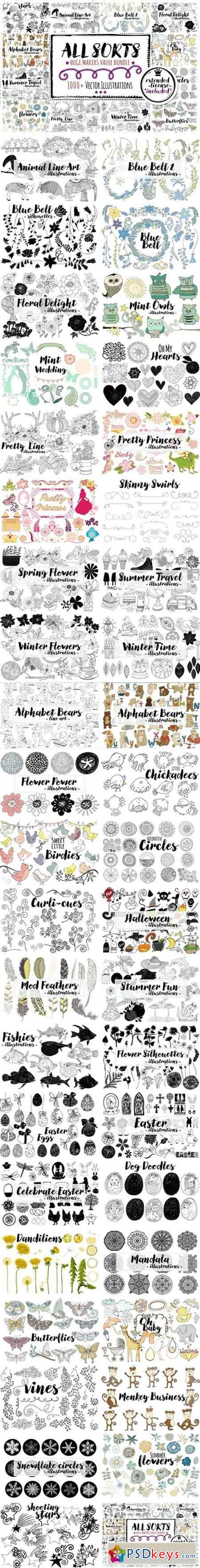 Vector Graphics Bundle 2071121