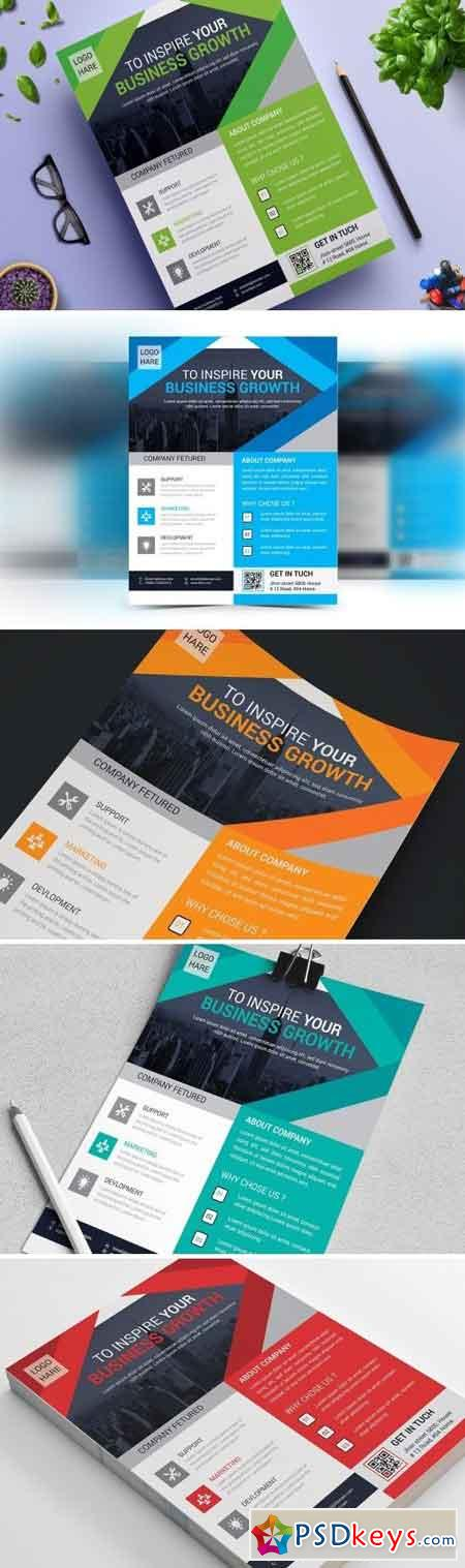 Corporate Business Flyer Vol. 14 1680197