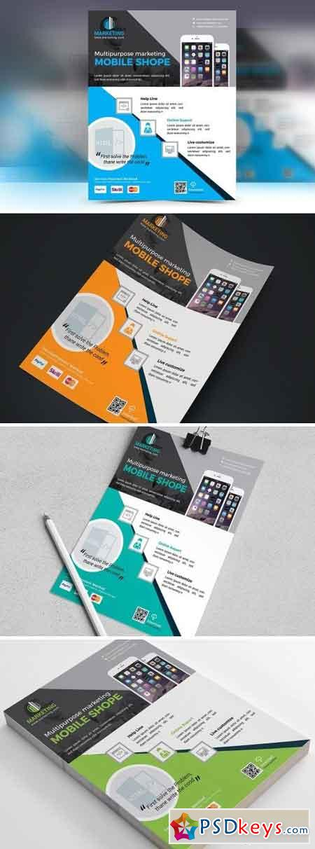 Mobile App Business Flyer Vol. 02 1677893