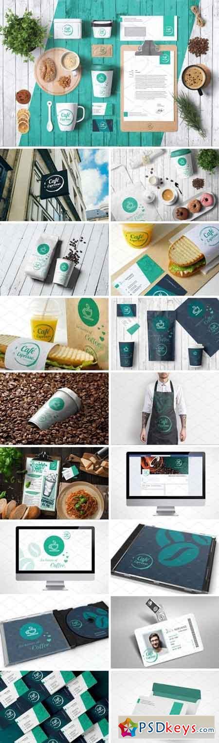 Coffee Full Corporate Identity 2434737