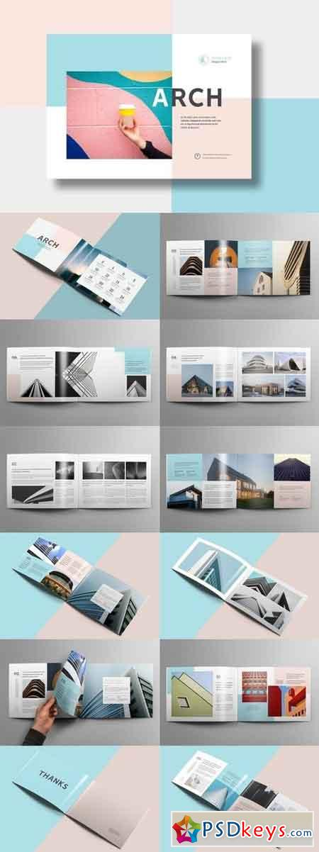 Modern Architecture Brochure 24 Pages A4 & A5 2